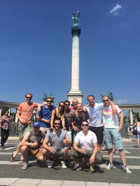 Sightseeing Budapest